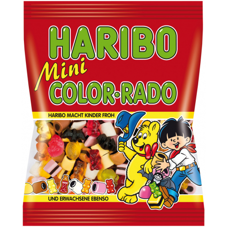Haribo Mini Color-Rado 6.17 oz Bag