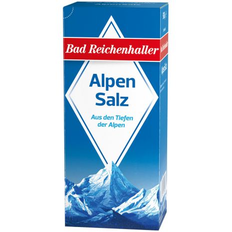 Bad Reichenhaller Alpine Salt 17.6 oz Refill Package