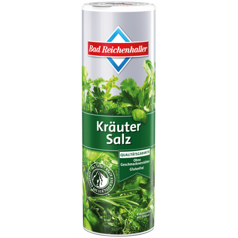 Bad Reichenhaller Seasoning Salt with Herbs 10.6 oz