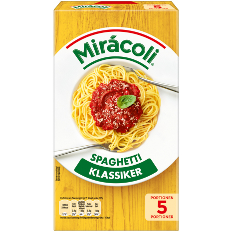Miracoli Spaghetti with Tomato Sauce 5 Servings
