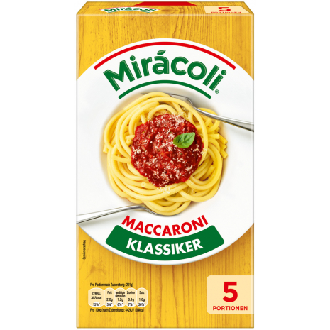 Miracoli Maccaroni with Tomato Sauce 5 Servings