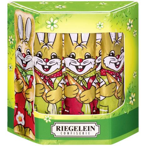 Riegelein Solid Milk Chocolate Easter Bunnies 4.41 oz
