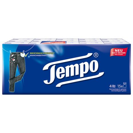 Tempo Original Pocket Tissues 15-Pack