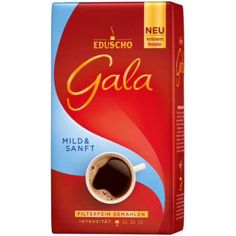 Eduscho Gala Mild & Gentle Ground Coffee 17.6 oz