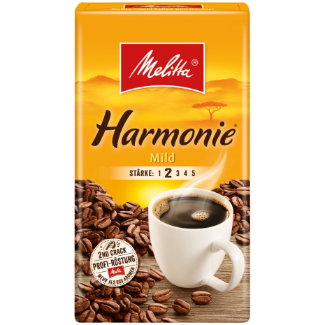 Melitta Harmonie Mild Ground Coffee 17.6 oz