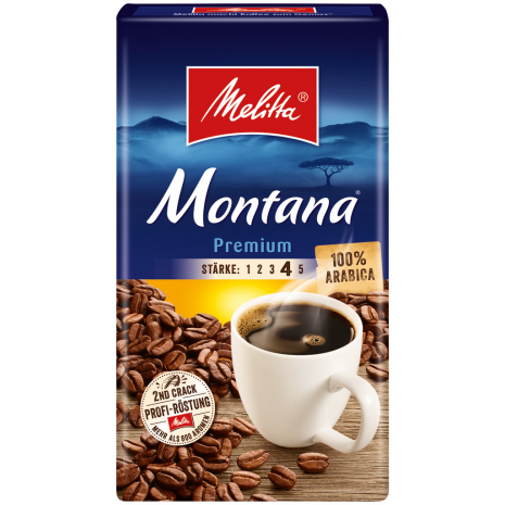 Melitta Montana Premium Ground Coffee 17.6 oz