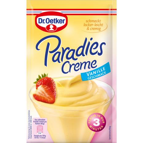 Dr. Oetker Paradise Cream Vanilla Flavor