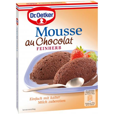 Dr. Oetker Dark Mousse au Chocolat