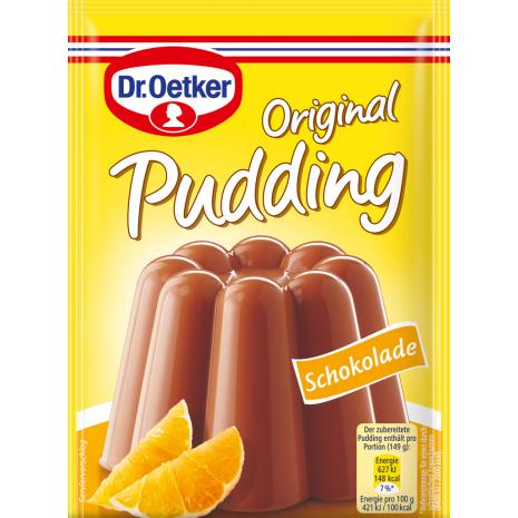 Dr. Oetker Original Pudding Chocolate Flavor 3-Pack
