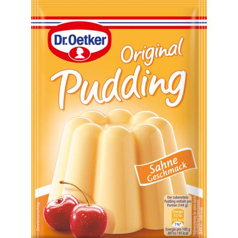 Dr. Oetker Original Pudding Cream Flavor 3-Pack