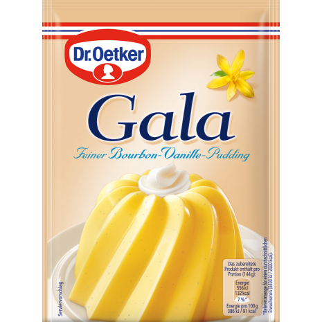 Dr. Oetker Gala Bourbon Vanilla Pudding 3-Pack