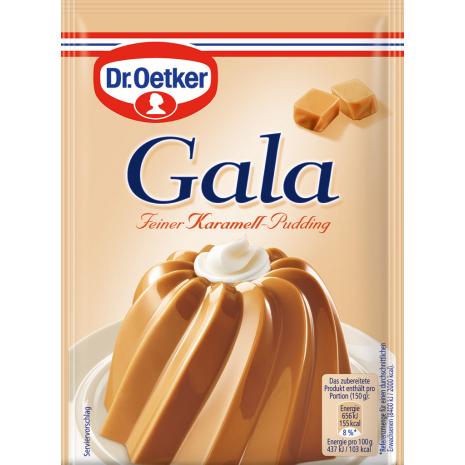 Dr. Oetker Gala Caramel Pudding 3-Pack