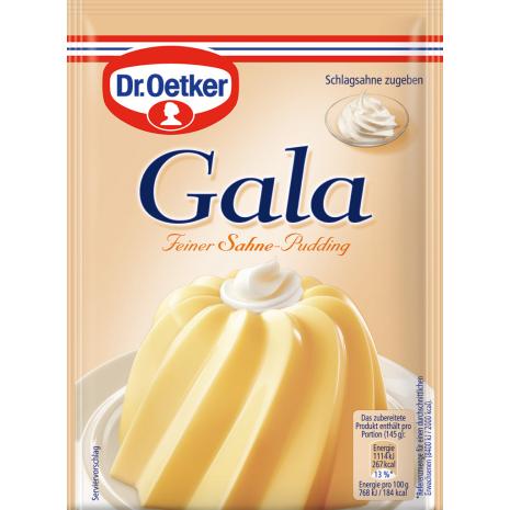 Dr. Oetker Gala Cream Pudding 3-Pack