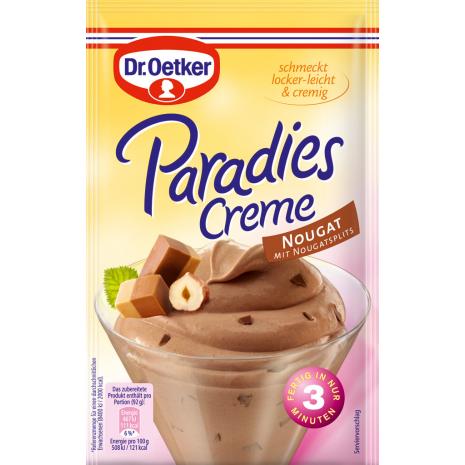 Dr. Oetker Paradise Cream Nougat Flavor