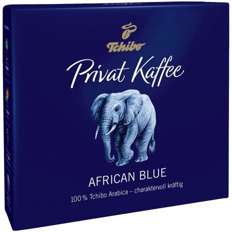 Tchibo Privat Kaffee African Blue Ground Coffee 17.6 oz
