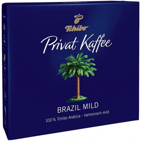 Tchibo Privat Kaffee Brazil Mild Ground Coffee 17.6 oz