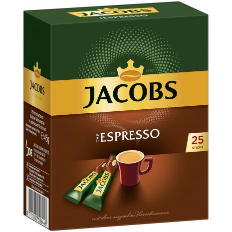 Jacobs Typ Espresso 25 Single Servings