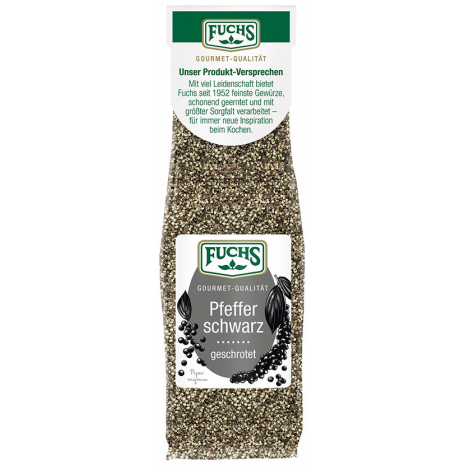 Fuchs Coarsely Cracked Black Pepper, Refill Bag