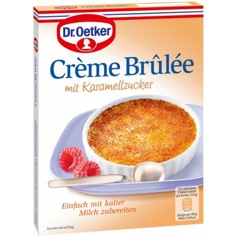 Dr. Oetker Creme Brulee with Caramelizing Sugar