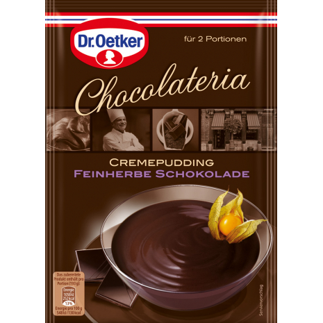 Dr. Oetker Chocolateria Creamy Pudding Fine Dark Chocolate