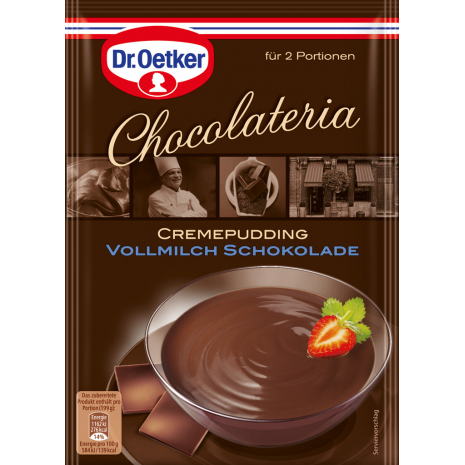 Dr. Oetker Chocolateria Creamy Pudding Milk Chocolate