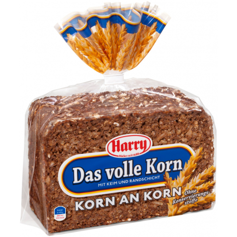 Harry Whole Rye Bread 17.6 oz