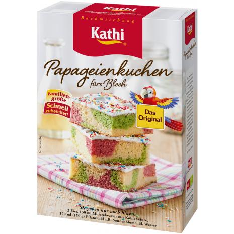 Kathi Colorful Parrot Sheet Cake Mix