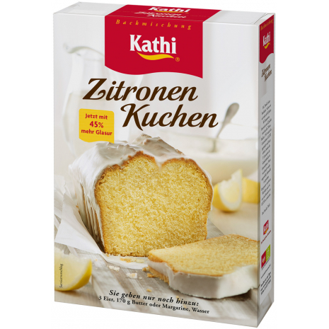 Kathi Lemon Pound Cake Mix 17.1 oz