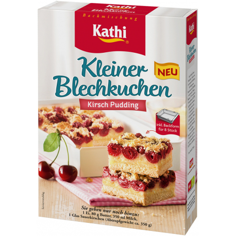 Kathi Cherry Pudding Sheet Cake Mix