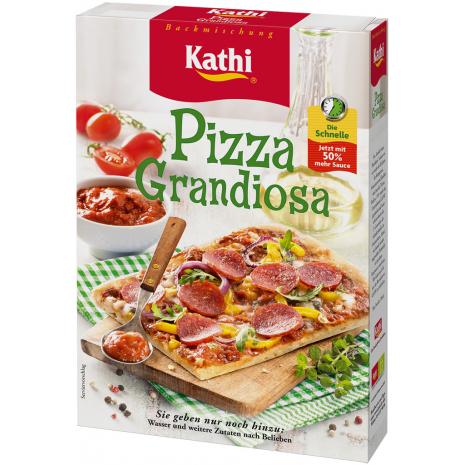 Kathi Pizza Dough Mix Grandiosa