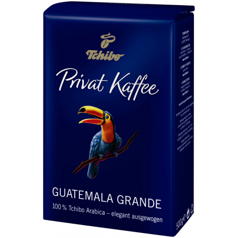 Tchibo Privat Kaffee Guatemala Grande Whole Beans 17.6 oz