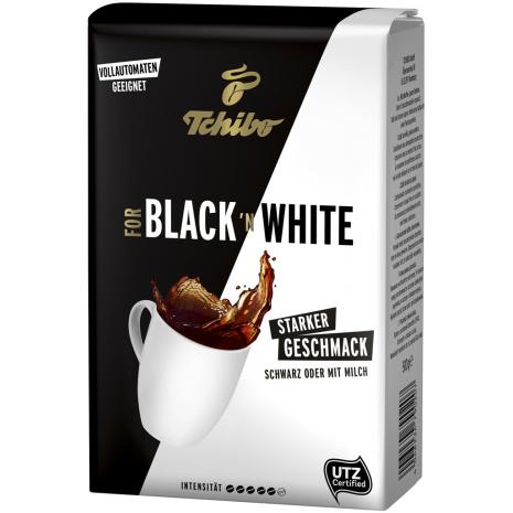 Tchibo For Black 'N White Whole Beans 17.6 oz