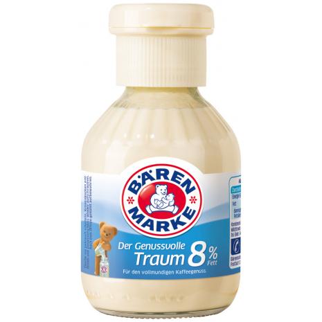 Baerenmarke Der Genussvolle Traum 8% Fat, 6 oz Bottle