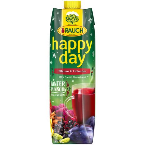 Rauch Happy Day Winter Punch Plum-Elderberry 33.8 fl.oz