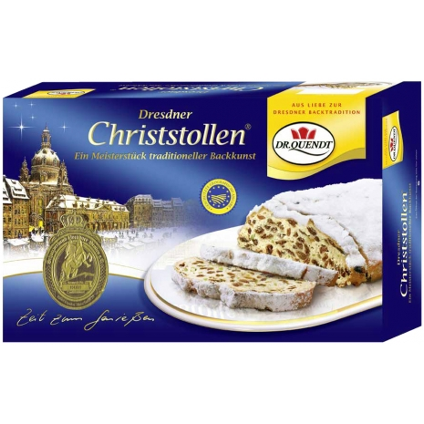 Dr. Quendt Dresdner Christstollen 2.20 lbs