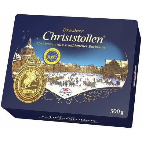 Dr. Quendt Dresdner Christstollen Gift Tin 17.6 oz