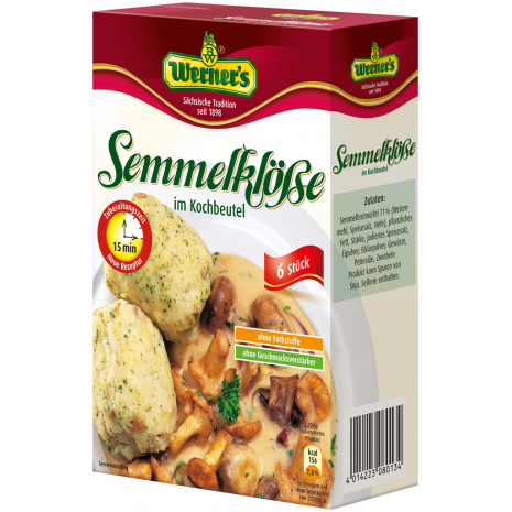 Werner's Bread Dumplings in Boiling Bags 7.05 oz
