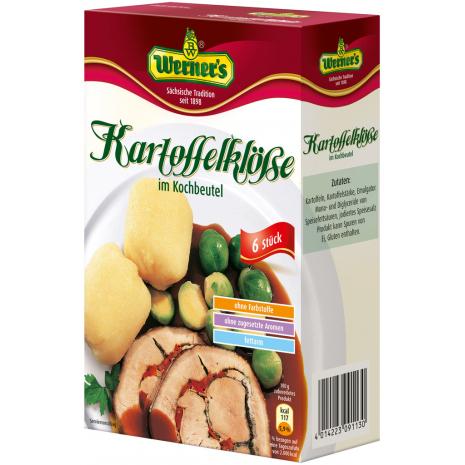 Werner's Potato Dumplings in Boiling Bags 7.05 oz