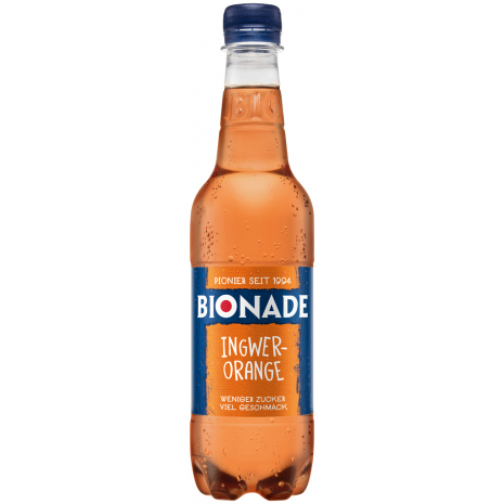 Bionade Ginger-Orange 0.5L PET Bottle