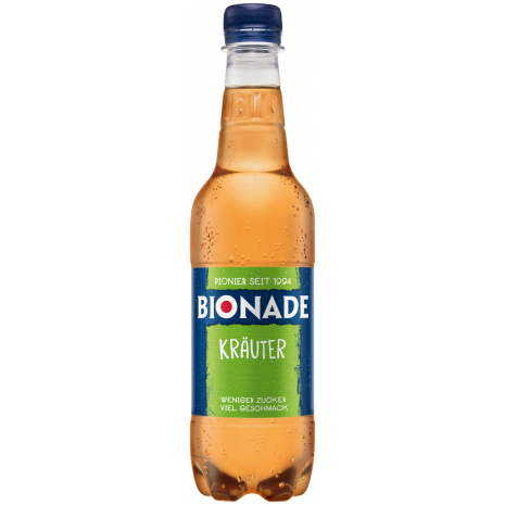 Bionade Herbal 0.5L PET Bottle