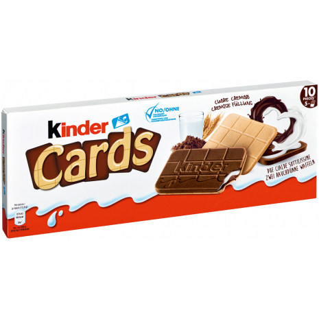 Kinder Cards 4.56 oz