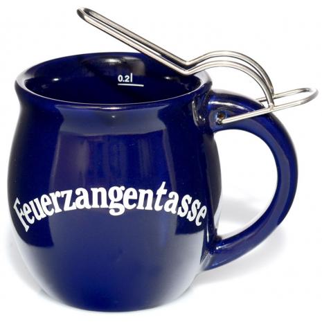 Fire Punch Ceramic Mug Cobalt Blue