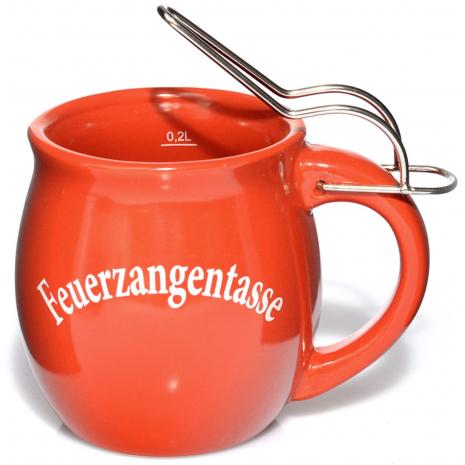 Fire Punch Ceramic Mug Christmas Red