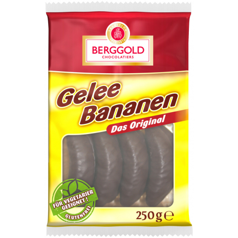 Berggold Jelly Bananas 8.82 oz