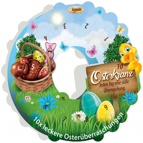 Argenta Easter Wreath Calendar 4.30 oz