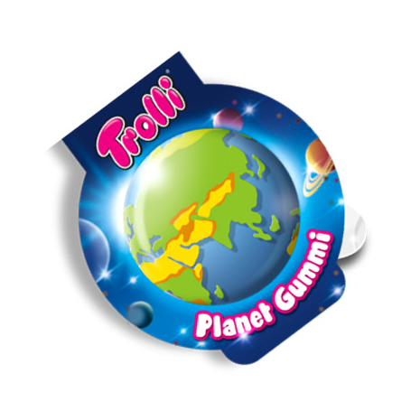Trolli Planet Soft Fruit Gums Individually Packed