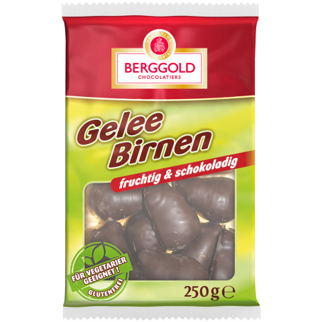 Berggold Jelly Pears 8.82 oz