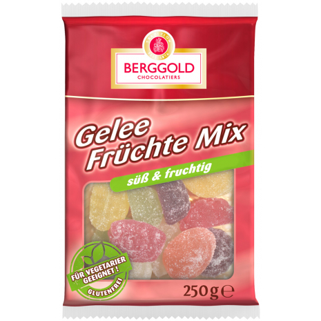 Berggold Jelly Fruit Mix 8.82 oz
