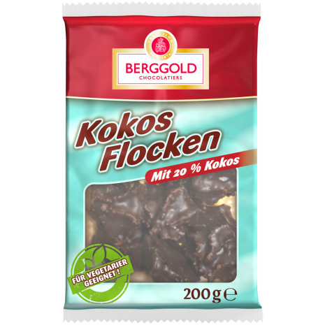 Berggold Coconut Flakes 7.05 oz