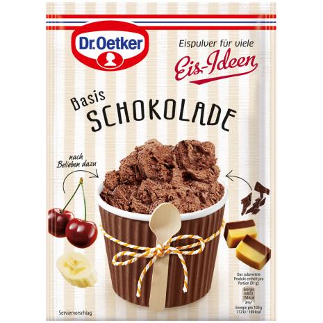 Dr. Oetker Ice Cream Idea, Chocolate Flavor